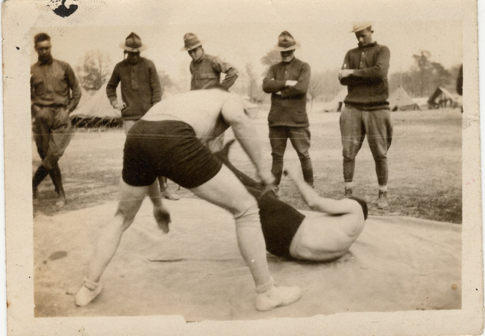 WWI Combatives and Wrestling -- Starring my Grandpa (4/6)