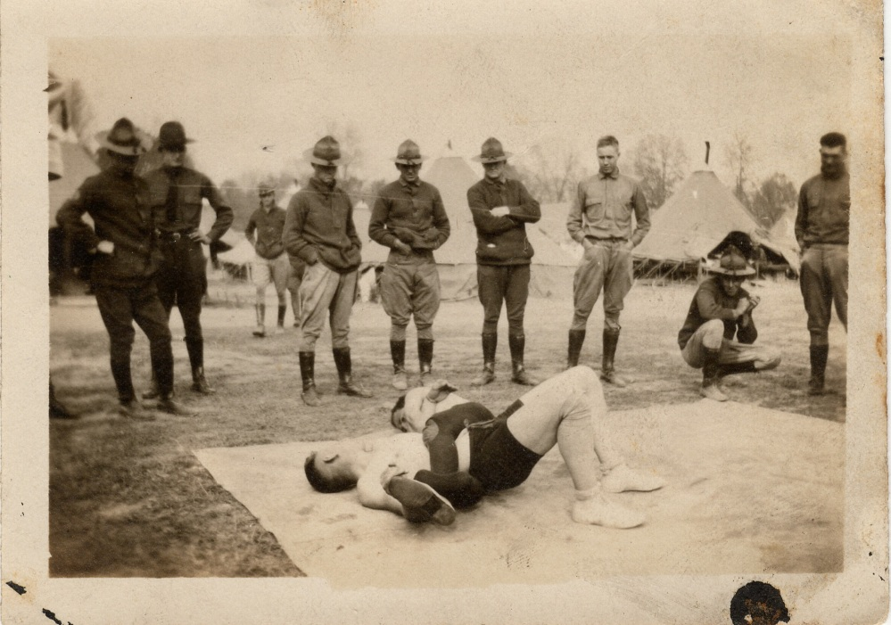 WWI Combatives and Wrestling -- Starring my Grandpa (3/6)