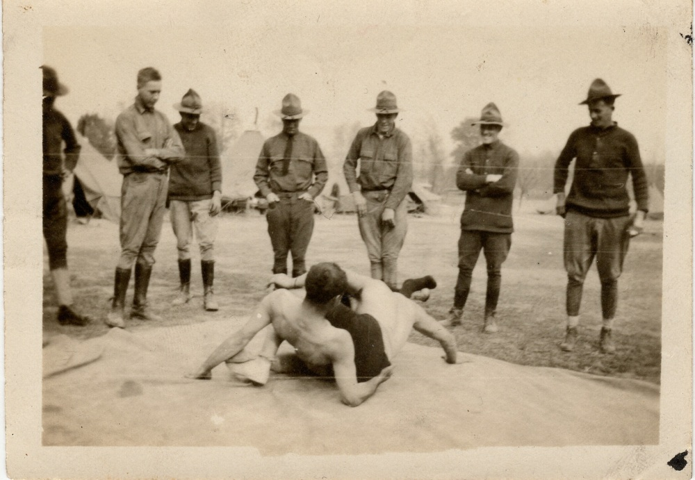 WWI Combatives and Wrestling -- Starring my Grandpa (5/6)