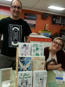 Matt and Kseniyah, the editors of I LOVE BAD MOVIES