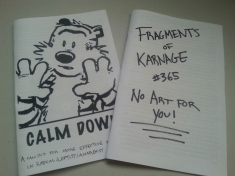 Calm Down and Fragments of Karnage