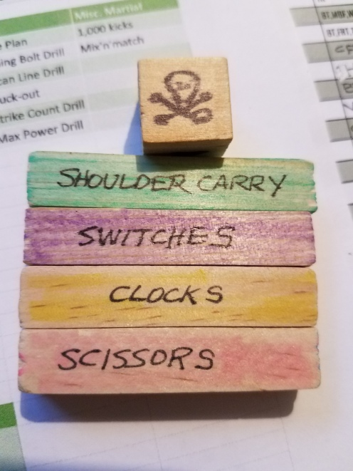 If you don't know what these exercises are, you probably should buy the associated programs -- available at https://www.mitch.store/?category=Dice
