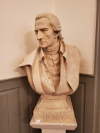 Bust of Patrick Henry