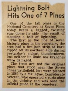 7 pines lyne seven
