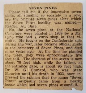 seven 7 pines lyne