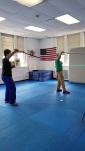 Beginning Vigny-Lang cane-fighting method