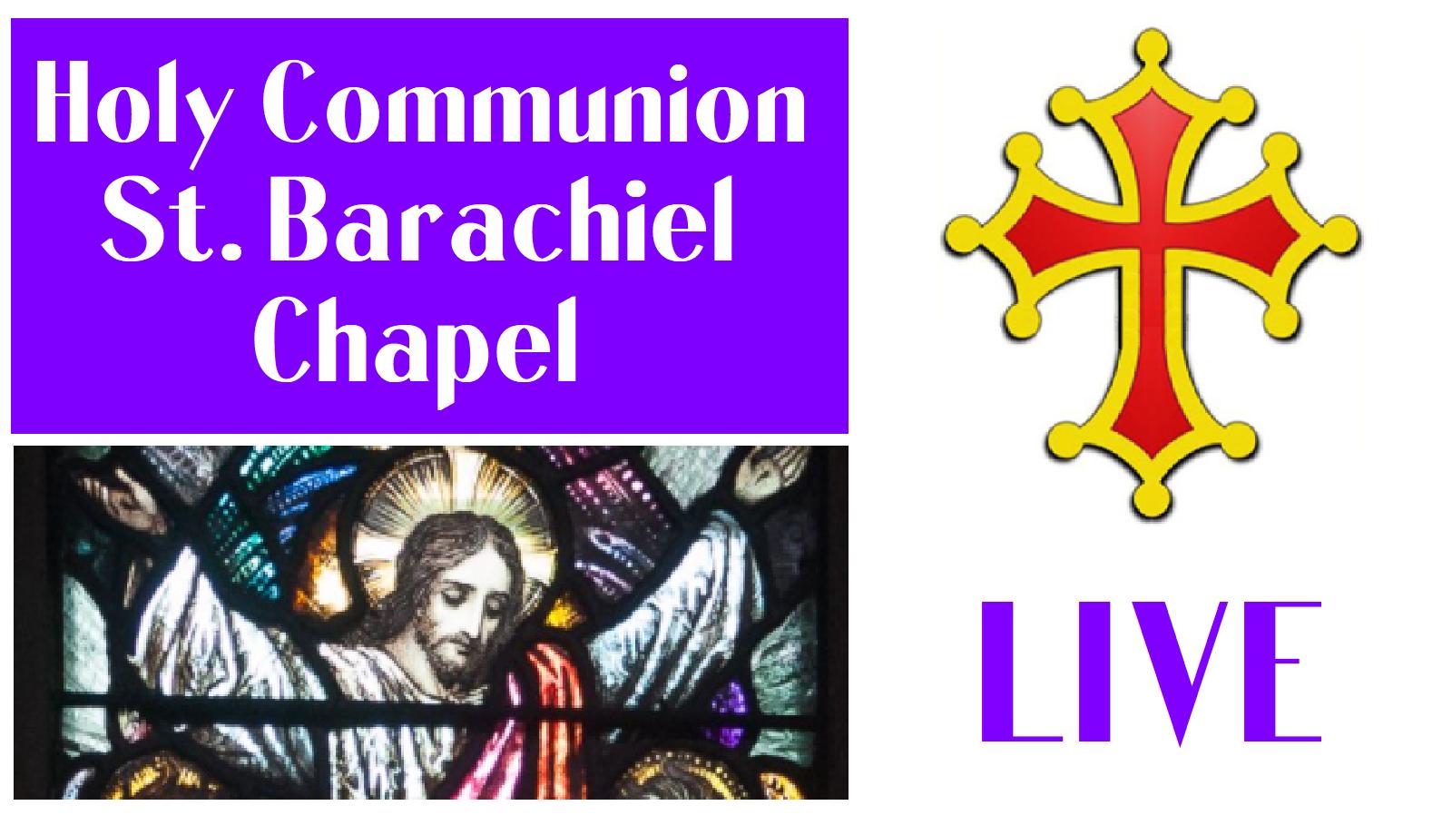 holy communion live stream